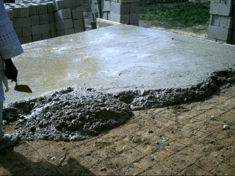 Oversite concrete or german floor avoidable problems for What is floor