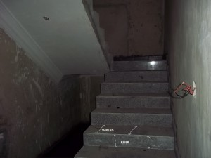 Staircase showing risers