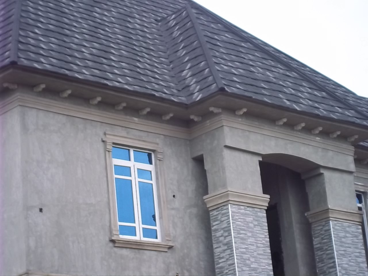 Parapet designs on bungalows in nigeria for Parapet roof design pictures